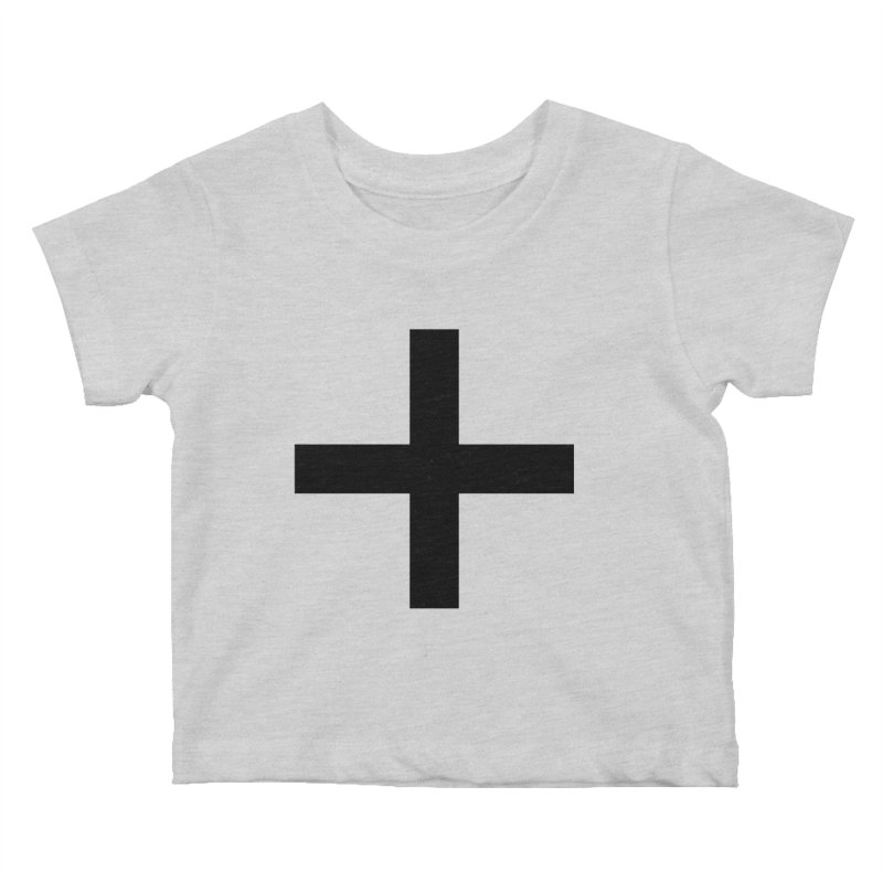 Plus (light shirts) Kids Baby T-Shirt by jjqad's Artist Shop