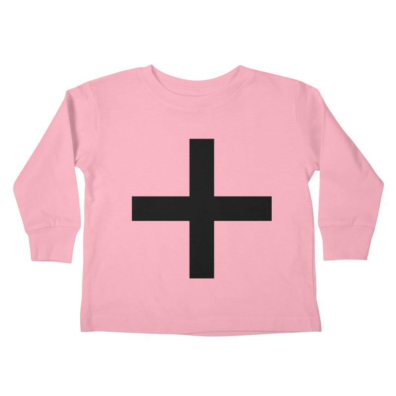 Plus (light shirts) Kids Toddler Longsleeve T-Shirt by jjqad's Artist Shop