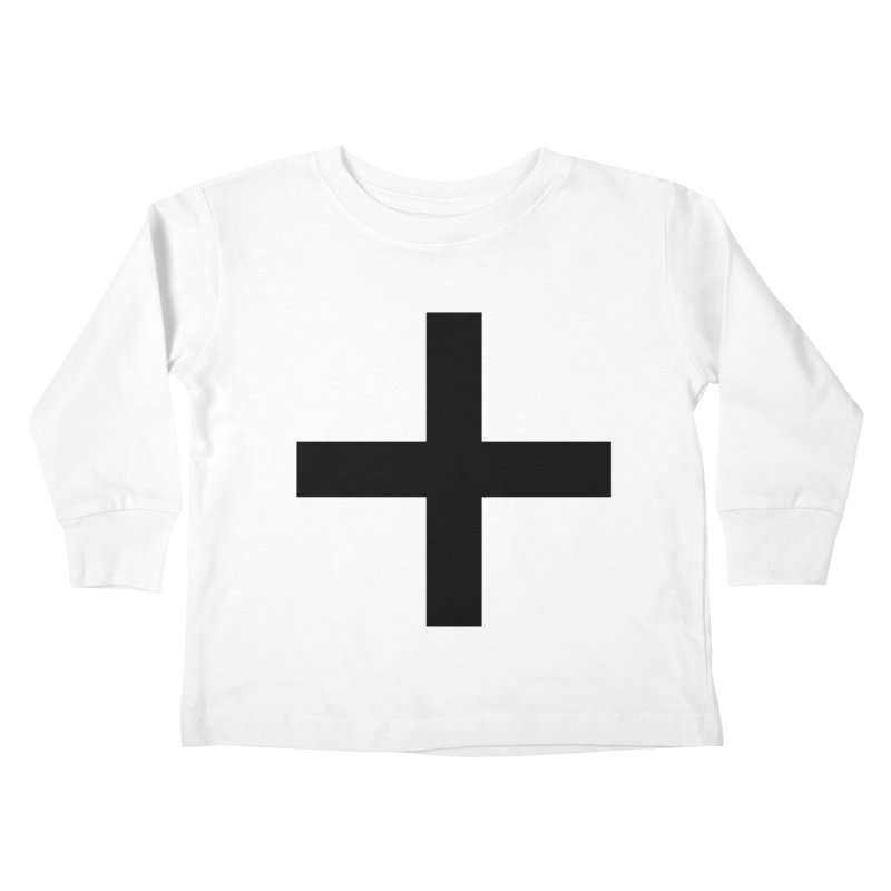 Plus (light shirts) Kids Toddler Longsleeve T-Shirt by jjqad's Artist Shop
