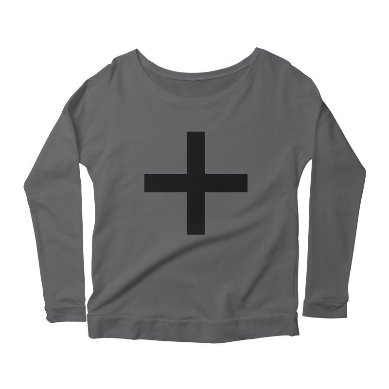 Plus (light shirts) Women's Longsleeve T-Shirt by jjqad's Artist Shop