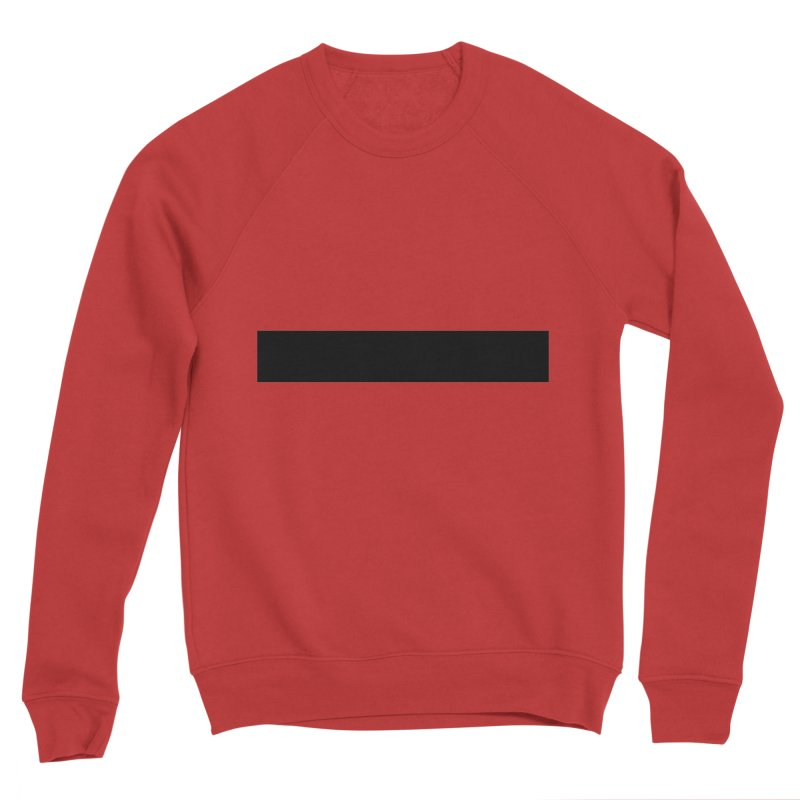 Minus (light shirts) Men's Sponge Fleece Sweatshirt by jjqad's Artist Shop