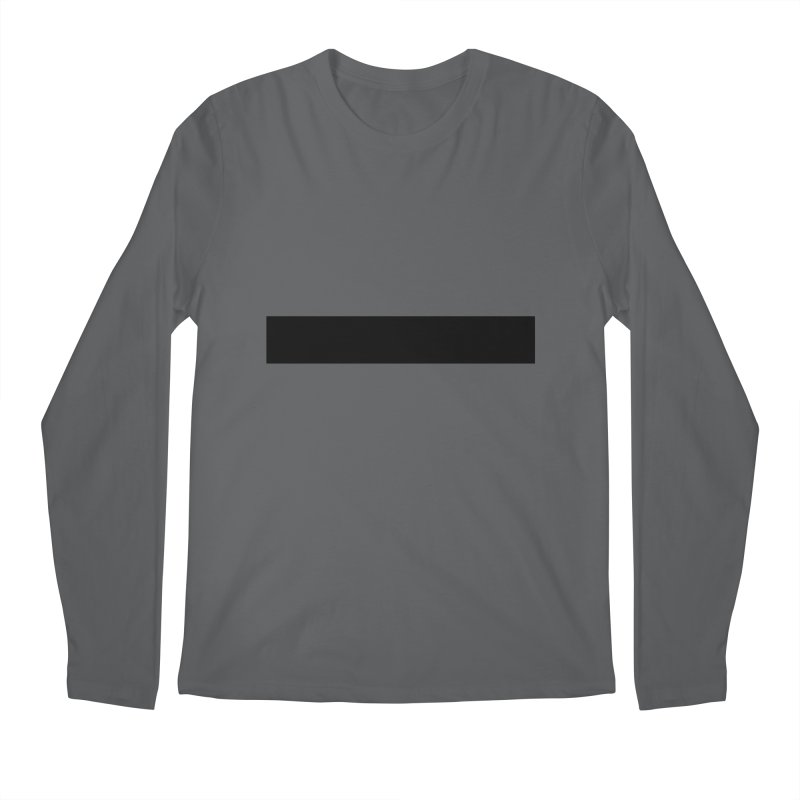 Minus (light shirts) Men's Regular Longsleeve T-Shirt by jjqad's Artist Shop