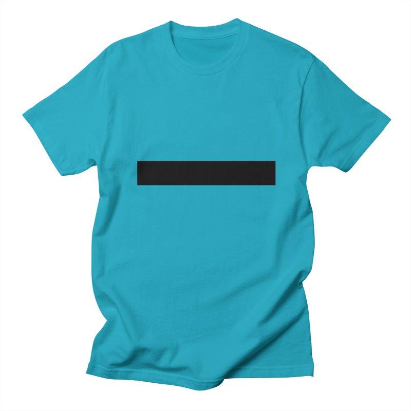 Minus (light shirts) Men's Regular T-Shirt by jjqad's Artist Shop