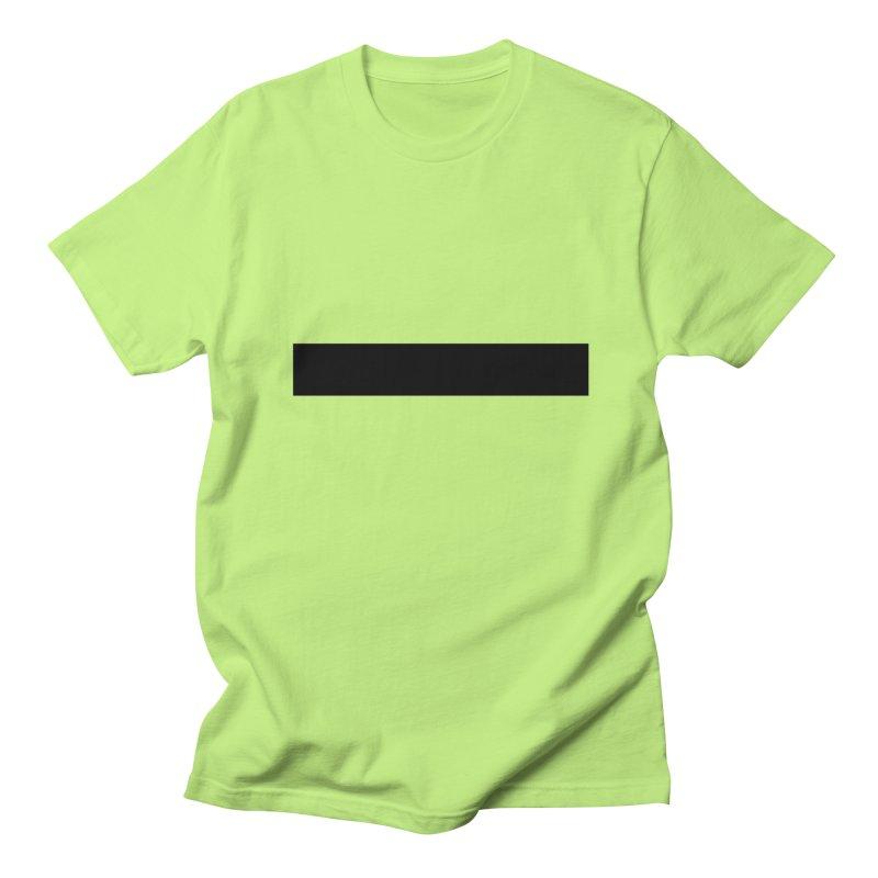 Minus (light shirts) Women's Regular Unisex T-Shirt by jjqad's Artist Shop
