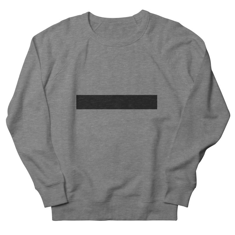 Minus (light shirts) Women's French Terry Sweatshirt by jjqad's Artist Shop