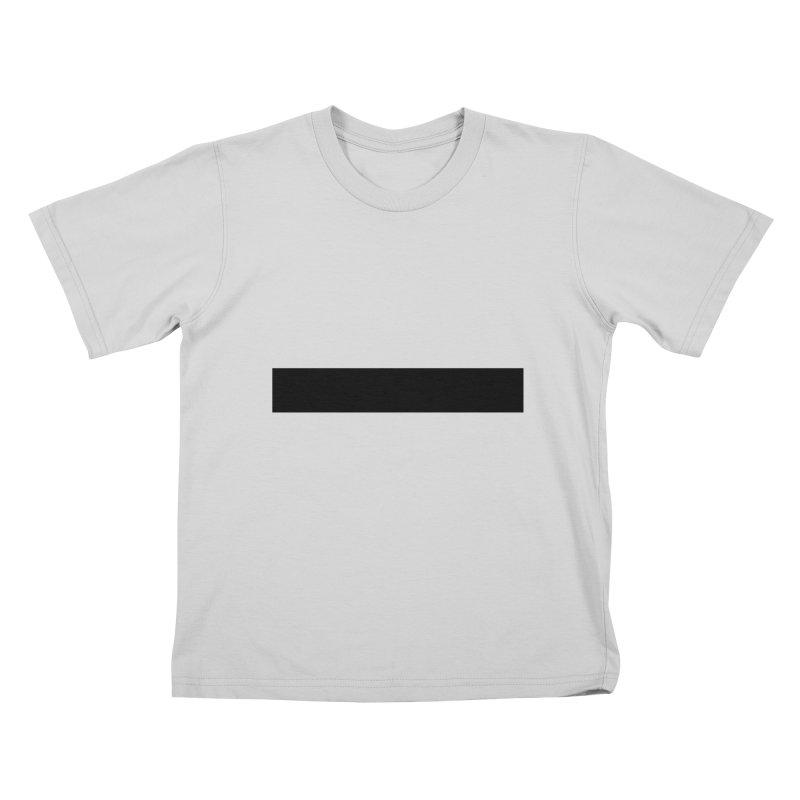 Minus (light shirts) Kids T-Shirt by jjqad's Artist Shop