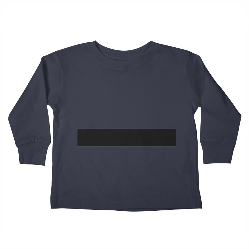 Minus (light shirts) Kids Toddler Longsleeve T-Shirt by jjqad's Artist Shop