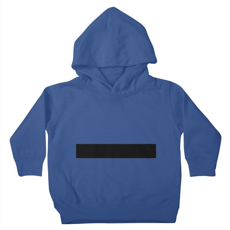 Minus (light shirts) Kids Toddler Pullover Hoody by jjqad's Artist Shop