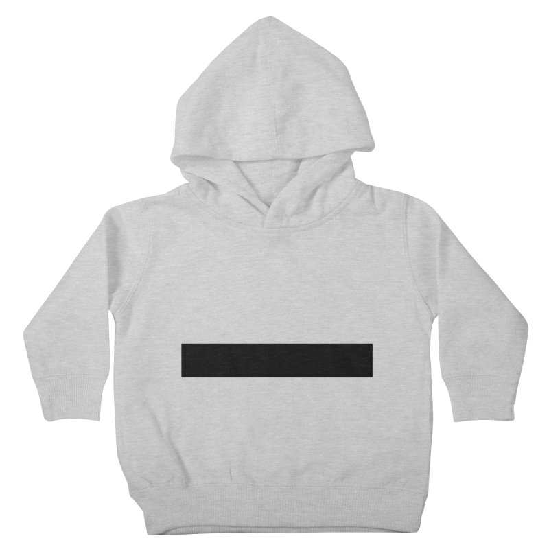 Minus (light shirts) Kids Toddler Pullover Hoody by jjqad's Artist Shop