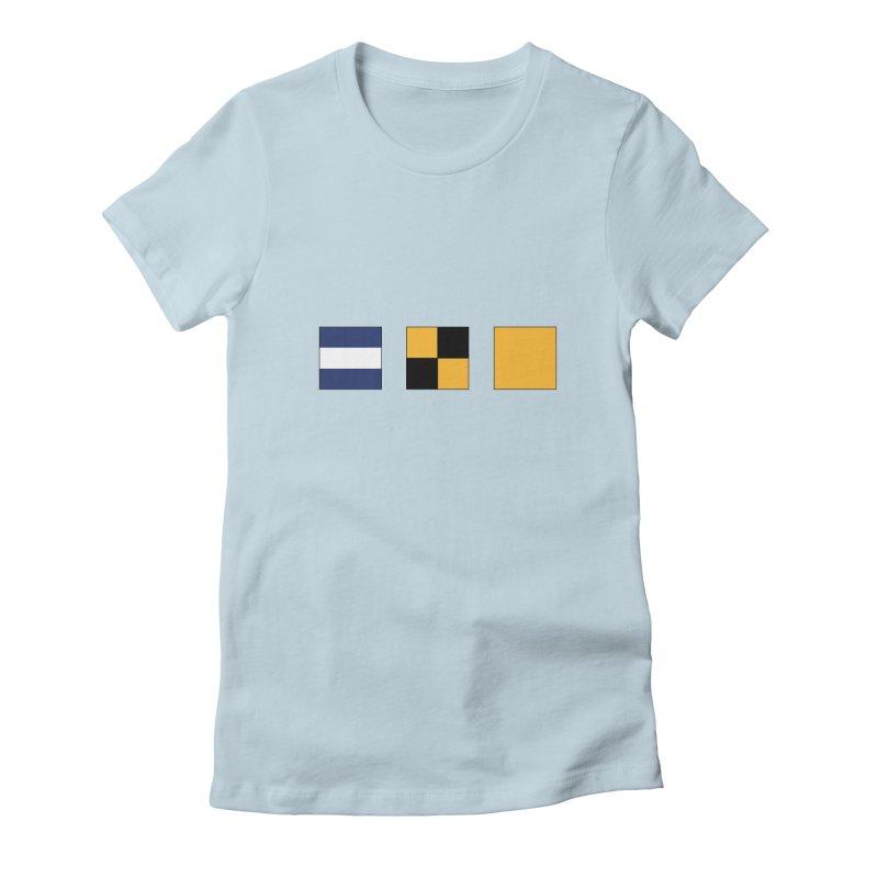 JLQ Shirt Women's Fitted T-Shirt by jjqad's Artist Shop