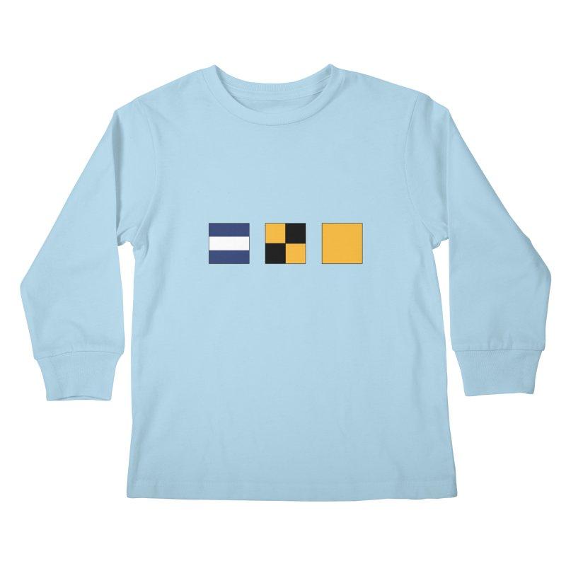 JLQ Shirt Kids Longsleeve T-Shirt by jjqad's Artist Shop