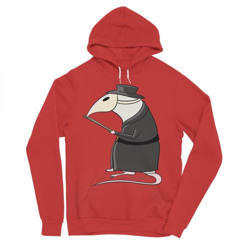 Plague Rat Doctor Women's Sponge Fleece Pullover Hoody by JJ Sandee's Artist Shop