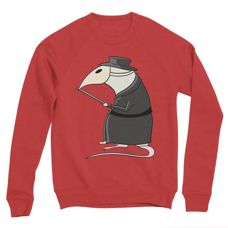 Plague Rat Doctor Men's Sponge Fleece Sweatshirt by JJ Sandee's Artist Shop
