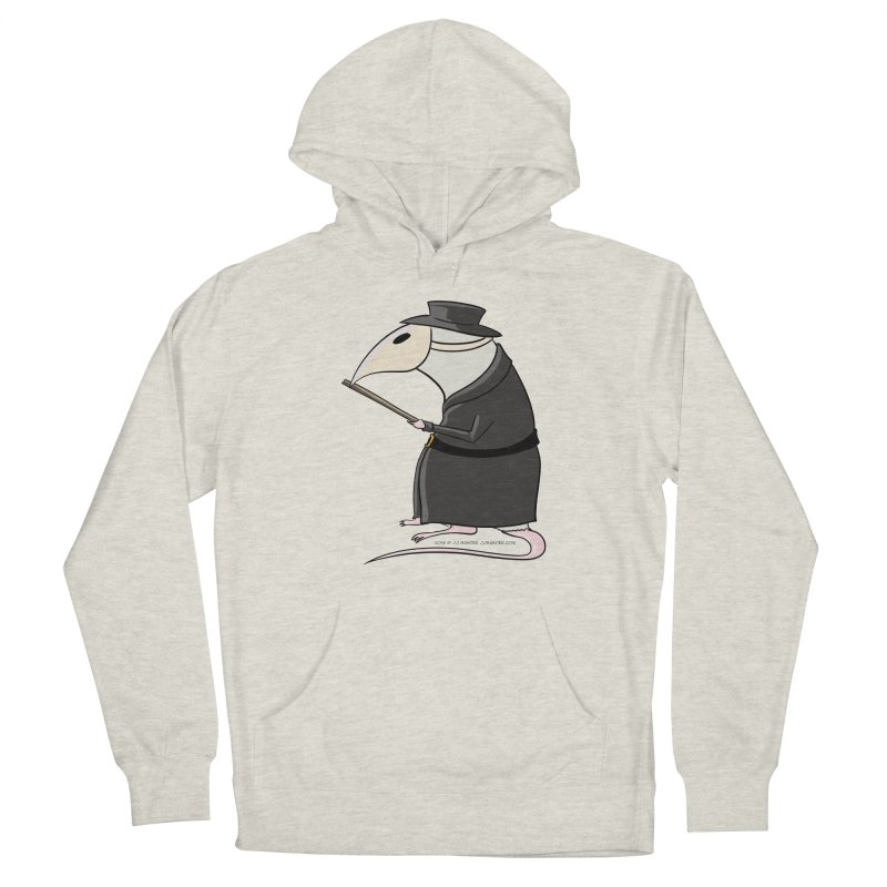 Plague Rat Doctor Men's Pullover Hoody by JJ Sandee's Artist Shop