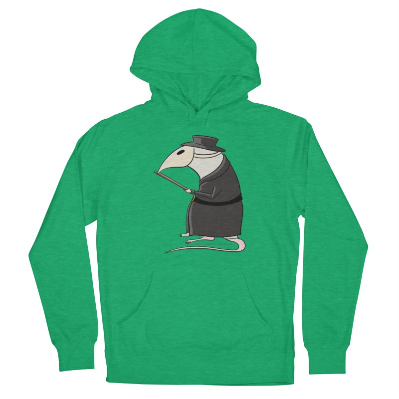 Plague Rat Doctor Men's French Terry Pullover Hoody by JJ Sandee's Artist Shop