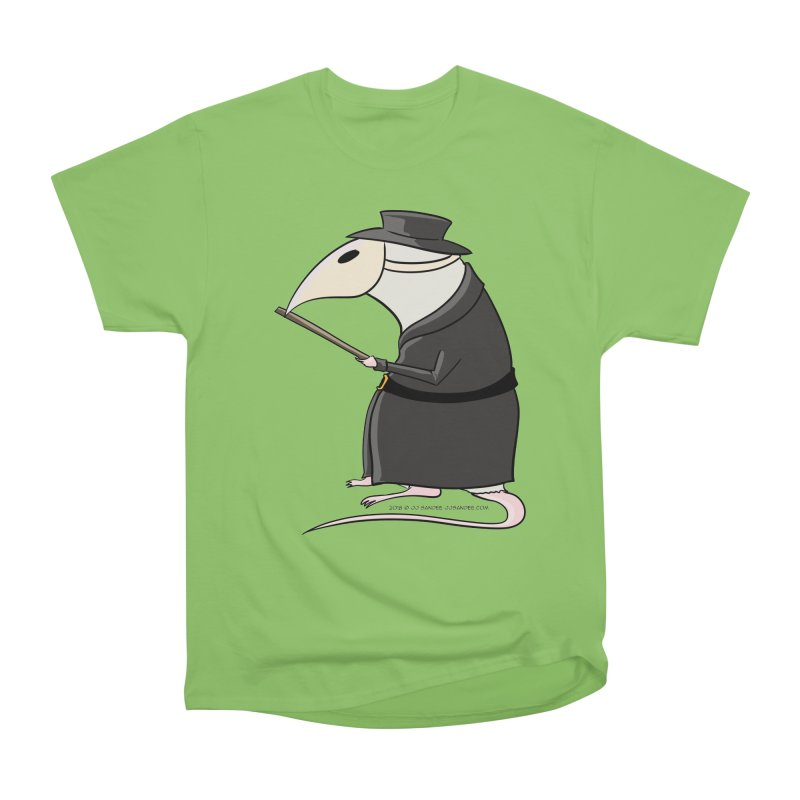 Plague Rat Doctor Women's Heavyweight Unisex T-Shirt by JJ Sandee's Artist Shop