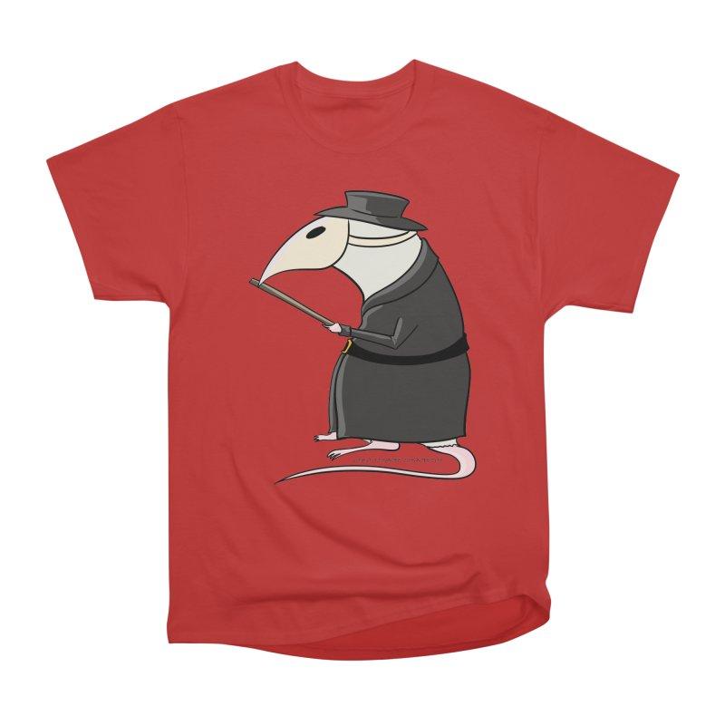 Plague Rat Doctor Women's Heavyweight Unisex T-Shirt by JJ Sandee's Artist Shop