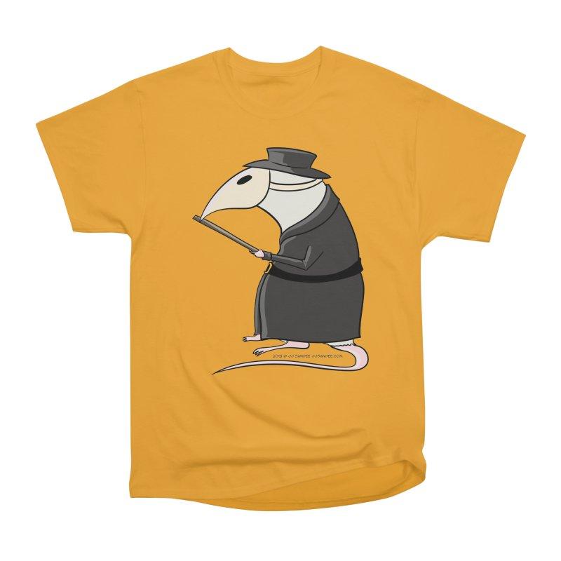 Plague Rat Doctor Men's Heavyweight T-Shirt by JJ Sandee's Artist Shop