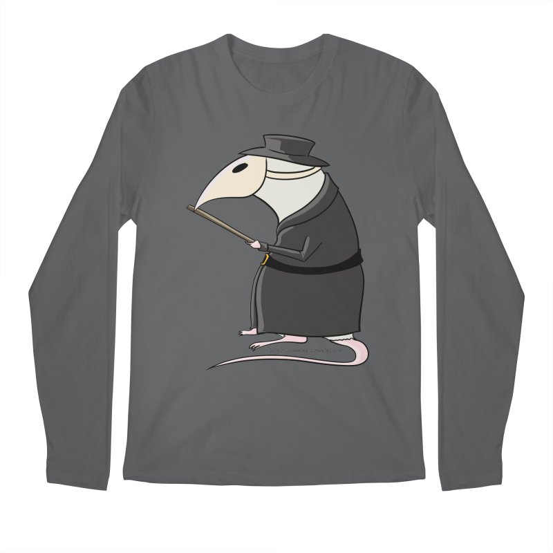 Plague Rat Doctor Men's Longsleeve T-Shirt by JJ Sandee's Artist Shop