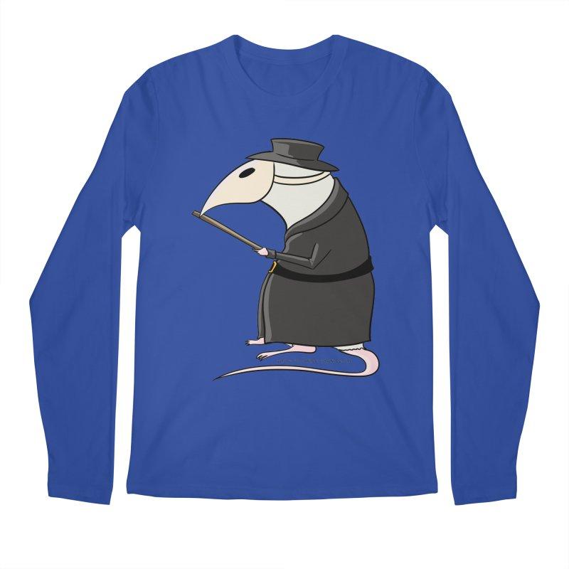 Plague Rat Doctor Men's Longsleeve T-Shirt by JJ Sandee's Artist Shop