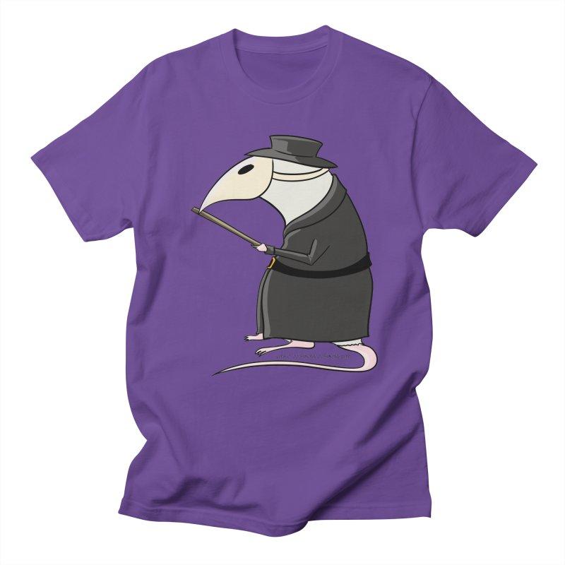 Plague Rat Doctor Men's T-Shirt by JJ Sandee's Artist Shop