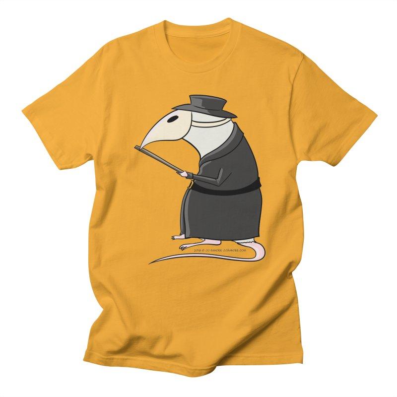 Plague Rat Doctor Men's Regular T-Shirt by JJ Sandee's Artist Shop