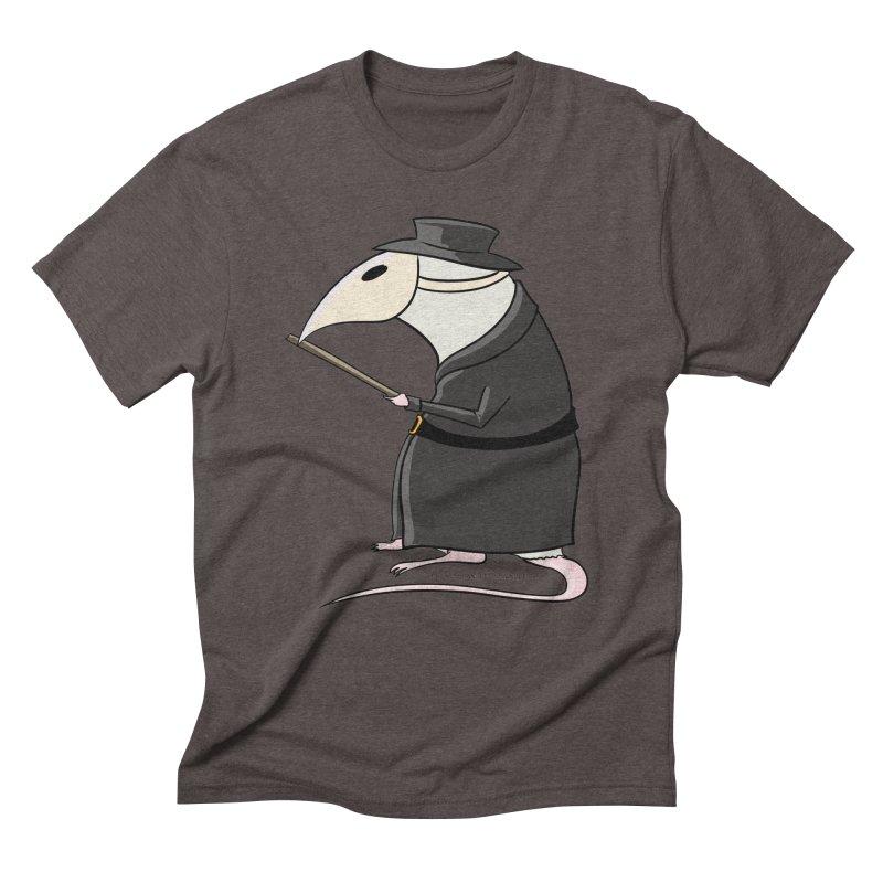Plague Rat Doctor Men's Triblend T-Shirt by JJ Sandee's Artist Shop