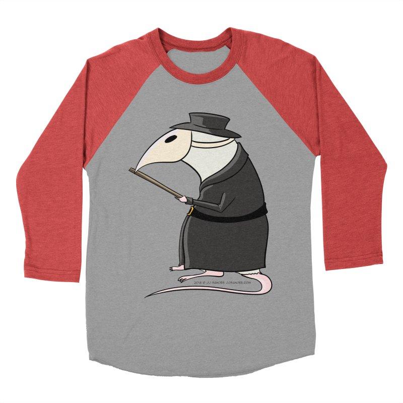 Plague Rat Doctor Women's Baseball Triblend Longsleeve T-Shirt by JJ Sandee's Artist Shop