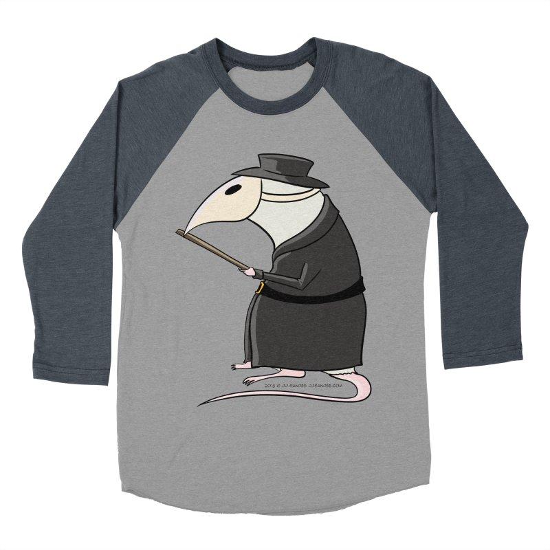 Plague Rat Doctor Men's Baseball Triblend Longsleeve T-Shirt by JJ Sandee's Artist Shop