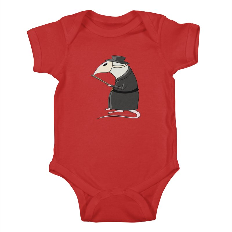 Plague Rat Doctor Kids Baby Bodysuit by JJ Sandee's Artist Shop