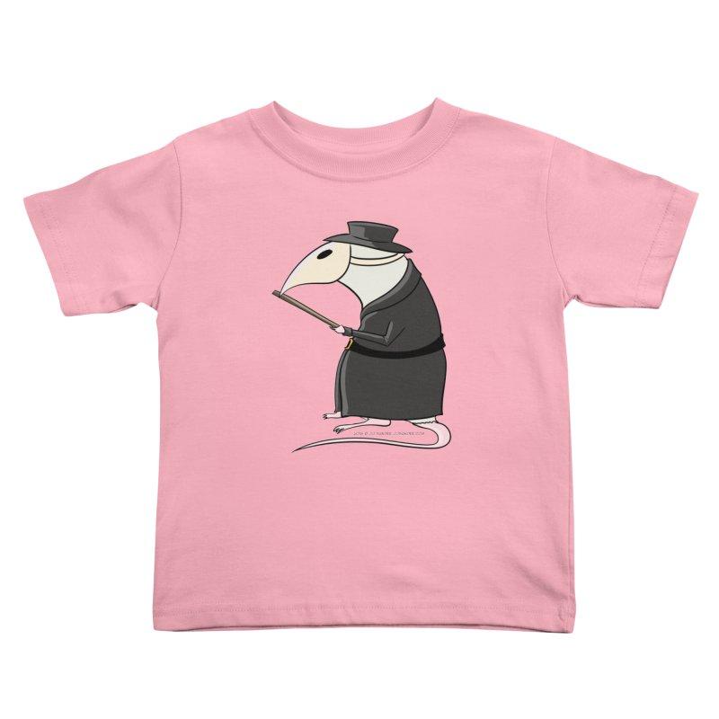 Plague Rat Doctor Kids Toddler T-Shirt by JJ Sandee's Artist Shop