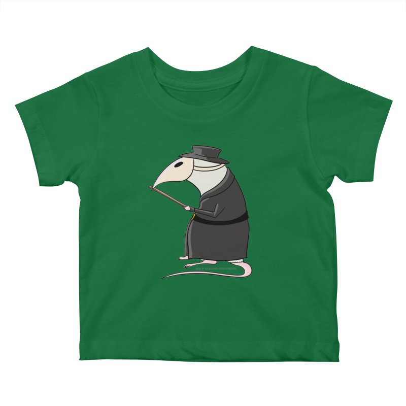 Plague Rat Doctor Kids Baby T-Shirt by JJ Sandee's Artist Shop