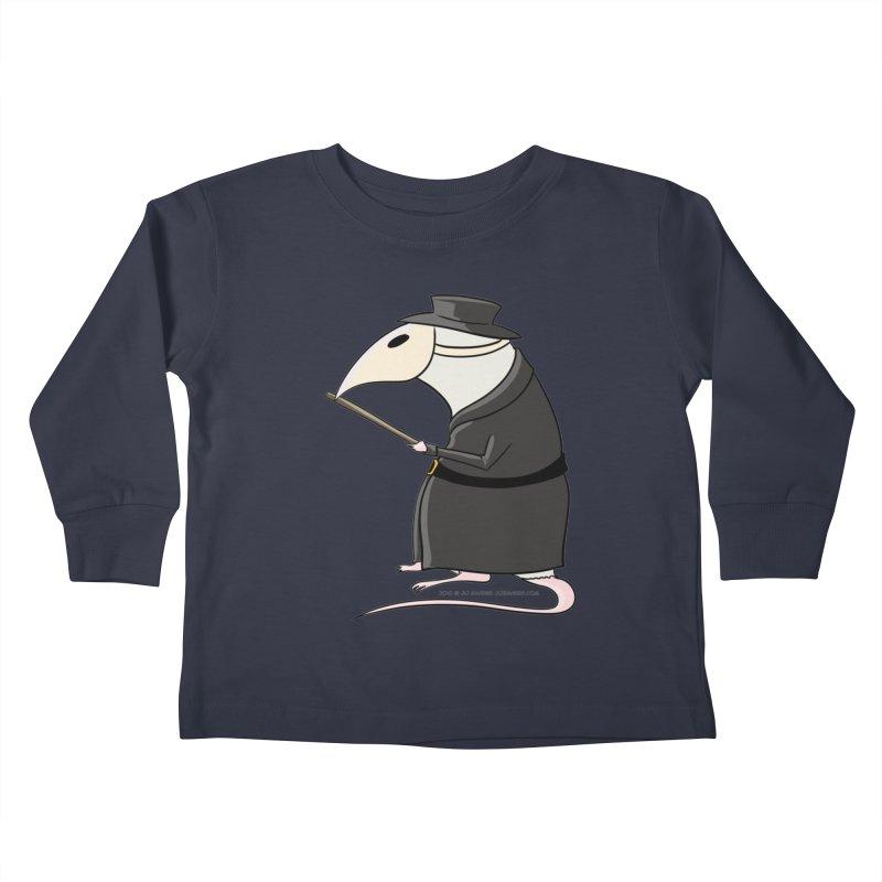 Plague Rat Doctor Kids Toddler Longsleeve T-Shirt by JJ Sandee's Artist Shop