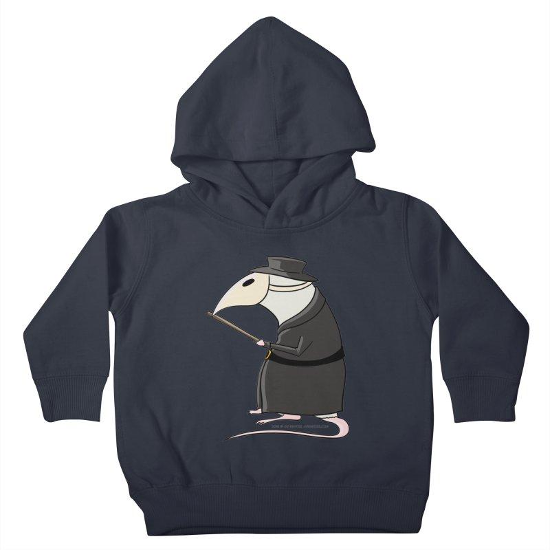 Plague Rat Doctor Kids Toddler Pullover Hoody by JJ Sandee's Artist Shop