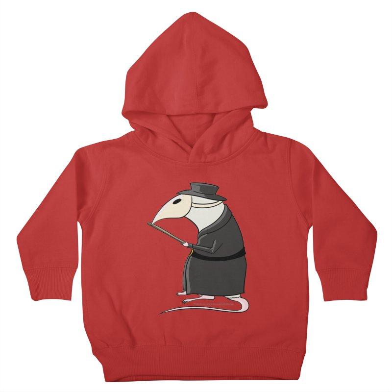 Plague Rat Doctor Kids Toddler Pullover Hoody by JJ Sandee's Artist Shop
