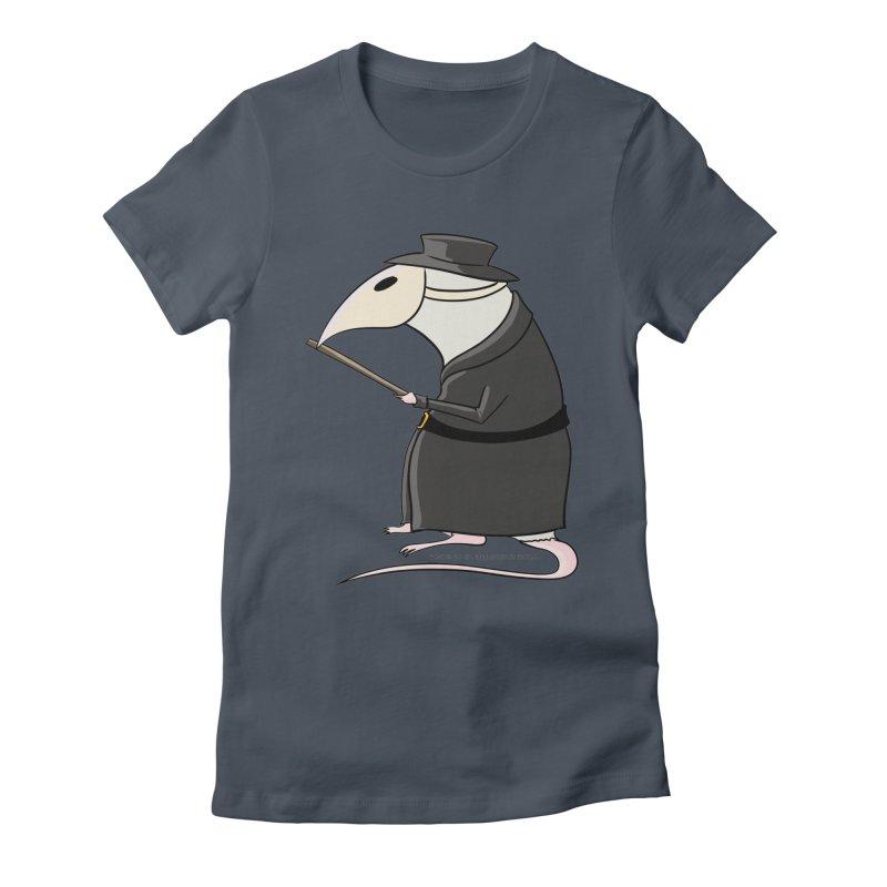 Plague Rat Doctor Women's T-Shirt by JJ Sandee's Artist Shop