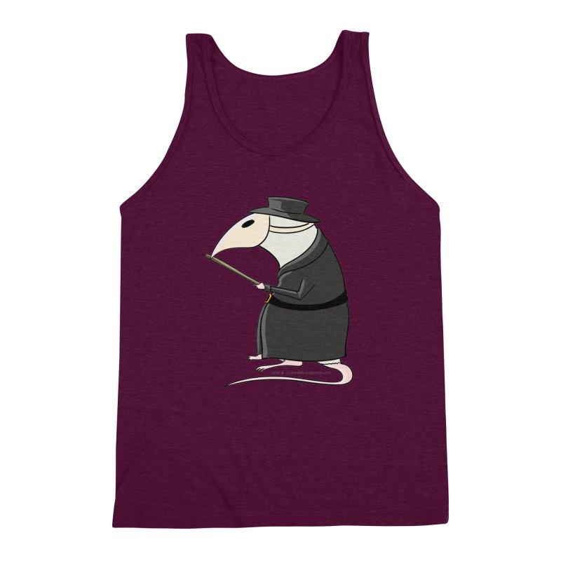 Plague Rat Doctor Men's Triblend Tank by JJ Sandee's Artist Shop