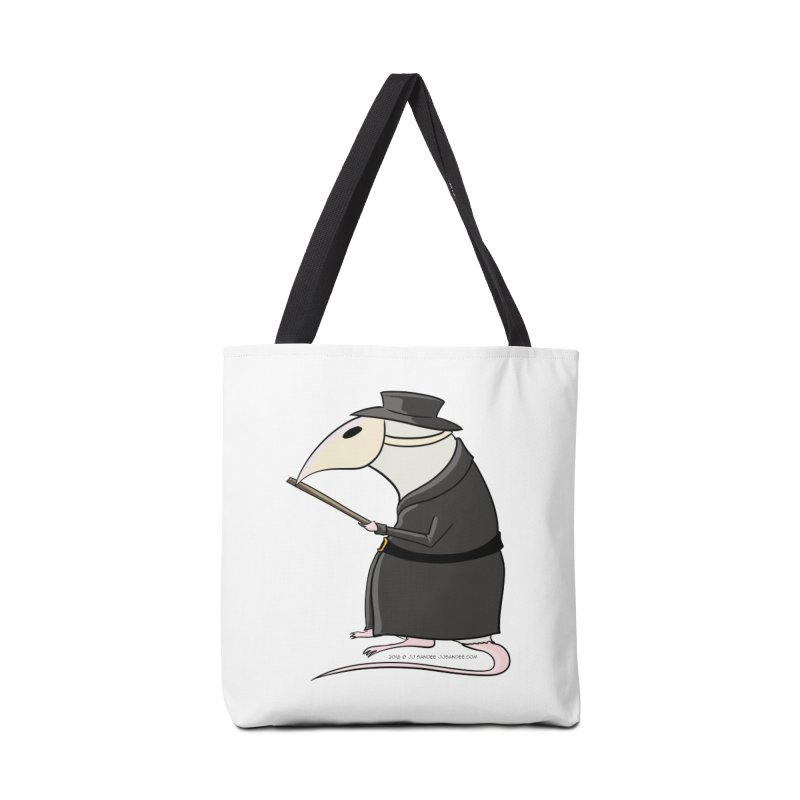 Plague Rat Doctor Accessories Tote Bag Bag by JJ Sandee's Artist Shop