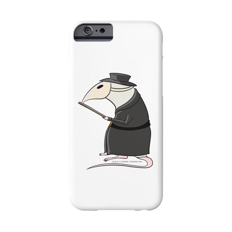 Plague Rat Doctor Accessories Phone Case by JJ Sandee's Artist Shop