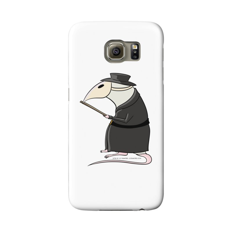 Plague Rat Doctor Accessories Phone Case by JJ Sandee's Artist Shop