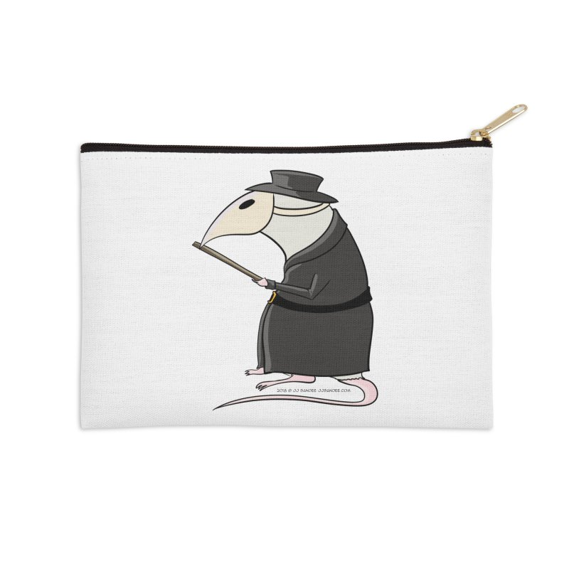 Plague Rat Doctor Accessories Zip Pouch by JJ Sandee's Artist Shop