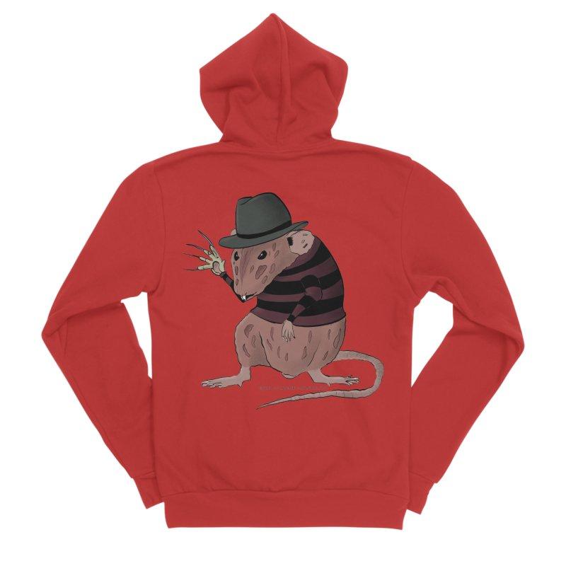 Ratty Kruger Women's Zip-Up Hoody by JJ Sandee's Artist Shop