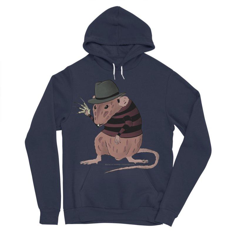 Ratty Kruger Men's Sponge Fleece Pullover Hoody by JJ Sandee's Artist Shop