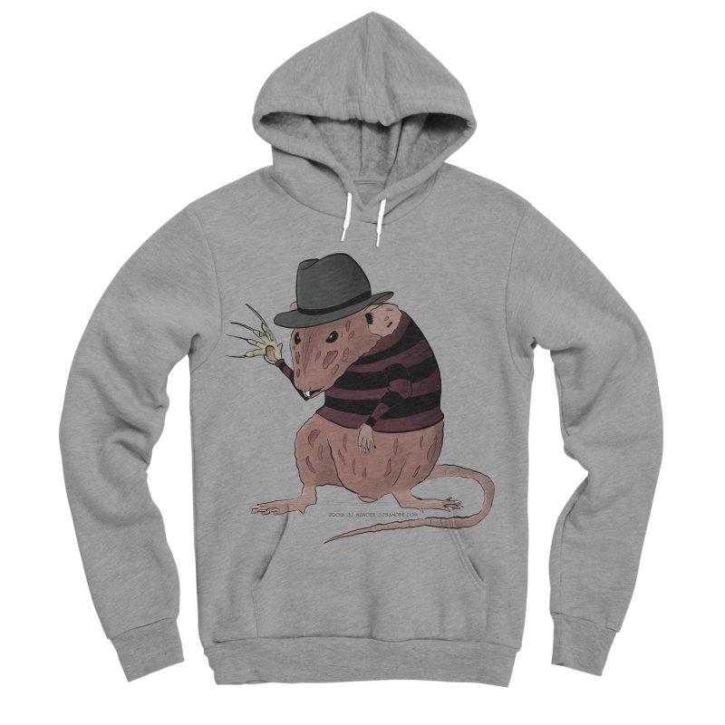 Ratty Kruger Women's Sponge Fleece Pullover Hoody by JJ Sandee's Artist Shop