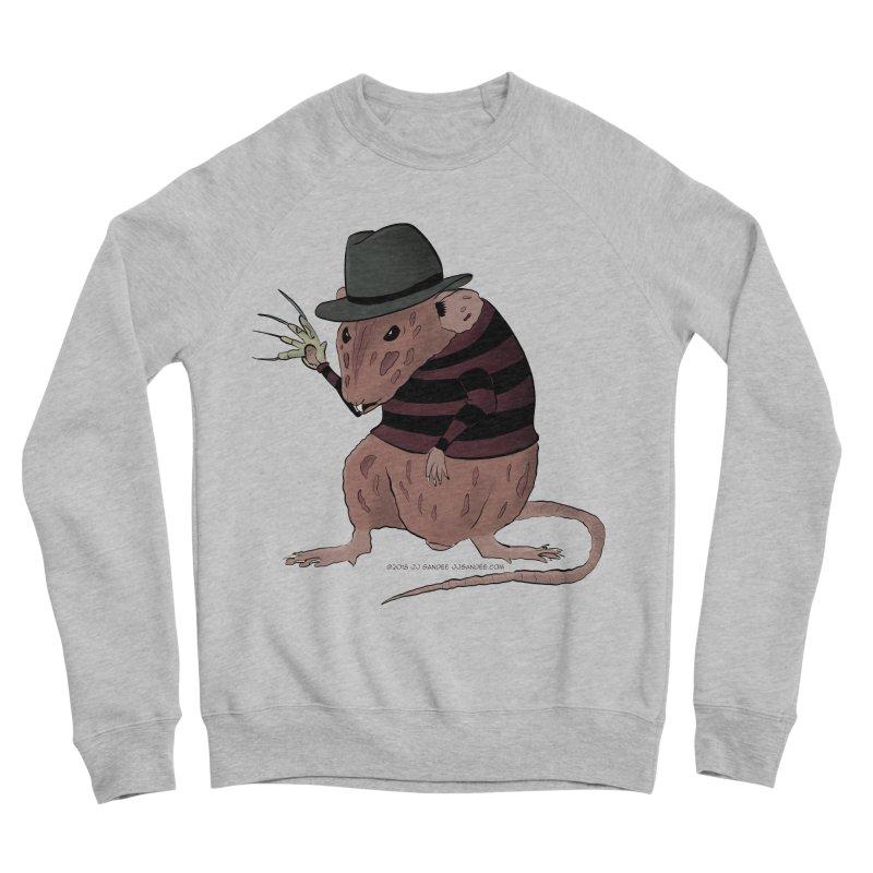 Ratty Kruger Men's Sponge Fleece Sweatshirt by JJ Sandee's Artist Shop