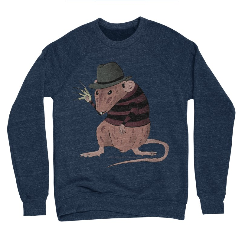 Ratty Kruger Men's Sponge Fleece Sweatshirt by JJ Sandee's Artist Shop