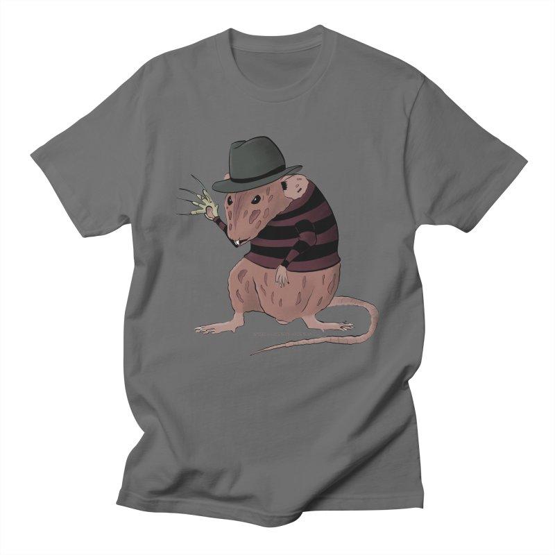 Ratty Kruger Men's T-Shirt by JJ Sandee's Artist Shop