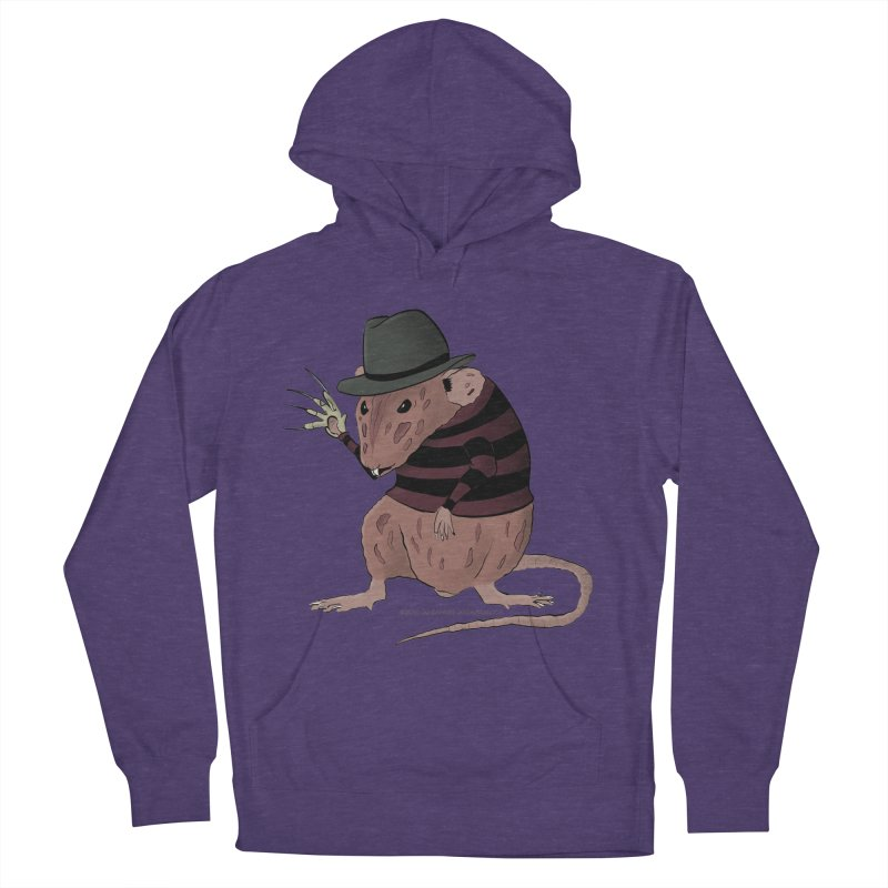 Ratty Kruger Women's French Terry Pullover Hoody by JJ Sandee's Artist Shop