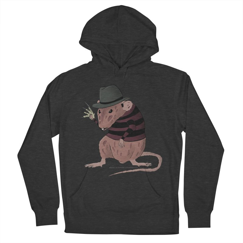 Ratty Kruger Men's French Terry Pullover Hoody by JJ Sandee's Artist Shop