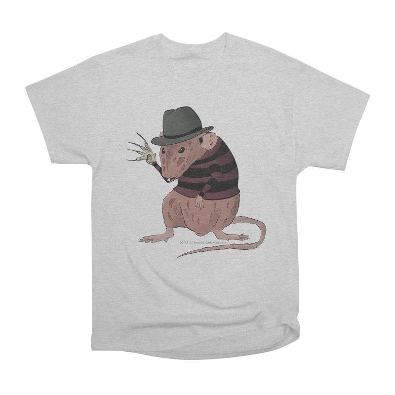 Ratty Kruger Women's Heavyweight Unisex T-Shirt by JJ Sandee's Artist Shop